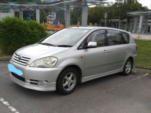 Toyota Wish (the exact model is Toyota Picnic)